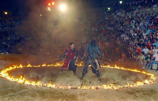Cañete vuelve al medievo con la Alvarada, que estrena condición de Interés Turístico Regional