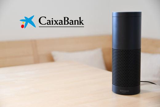 CaixaBank, primera entidad financiera en disponer del asistente Amazon Alexa
