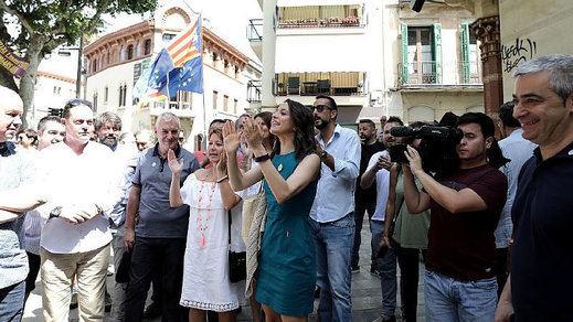 Arrimadas: 'Seguiremos defendiendo una Cataluña donde nadie ahuyente a los no independentistas'
