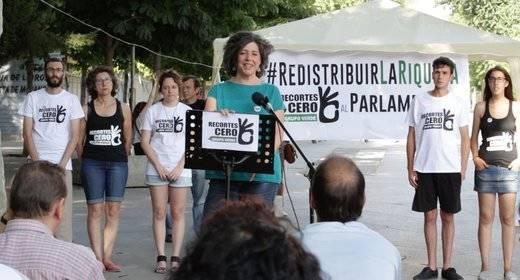 """Recortes Cero-Grupo Verde cierra campaña: 'Somos la única opción política para redistribuir la riqueza en España"""""""