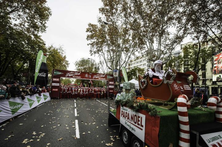 Carrera de Papá Noel 2017