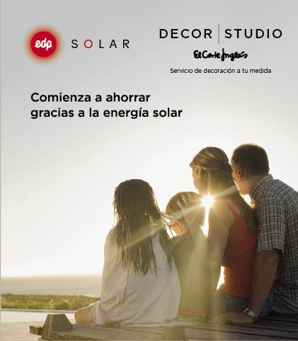 El Corte Inglés se alía con EDP para ofrecer paneles solares para el hogar