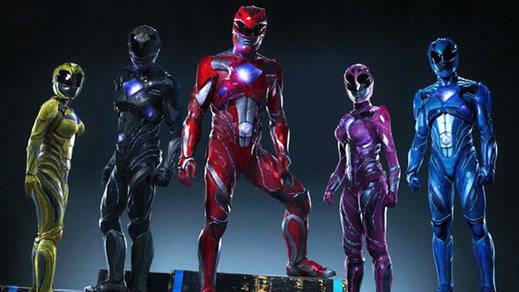 El cambio de 'look' de los Power Rangers revoluciona a los nostálgicos en Twitter