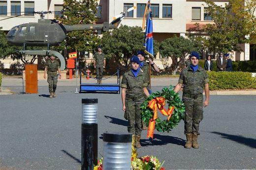 Almagro homenajea a los tres soldados fallecidos en accidente de helicóptero
