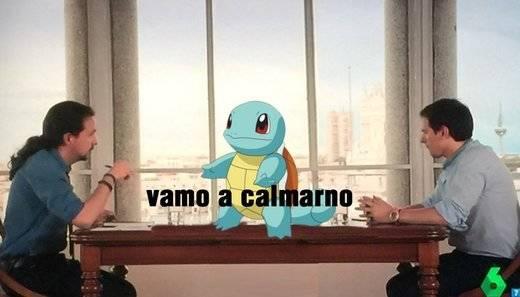 Los mejores memes del debate entre Pablo Iglesias y Albert Rivera
