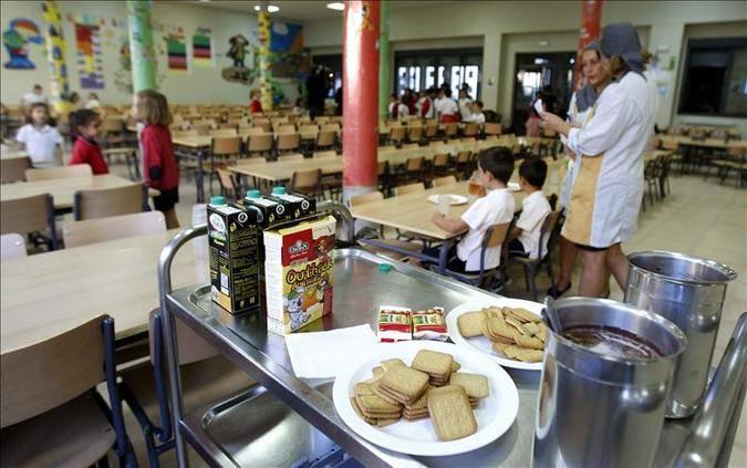 comedores escolares: el próximo curso escolar tendrá 13.000 ayudas