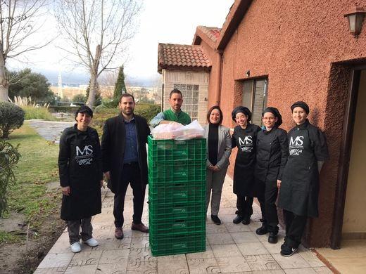 Mercadona donará diariamente productos al comedor social 'Manos de Ayuda Social' de Vallecas (Madrid)