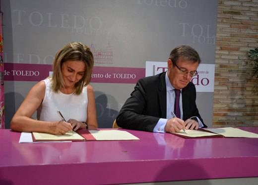 UCLM y Ayuntamiento de Toledo ampliarán hacia el sur el Campus Tecnológico de la Fábrica de Armas