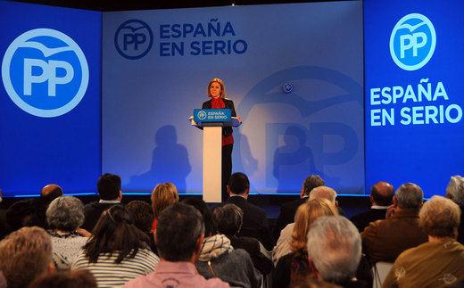 Cospedal a Rivera: Para ser presidente hay que venir aprendido de qué es España