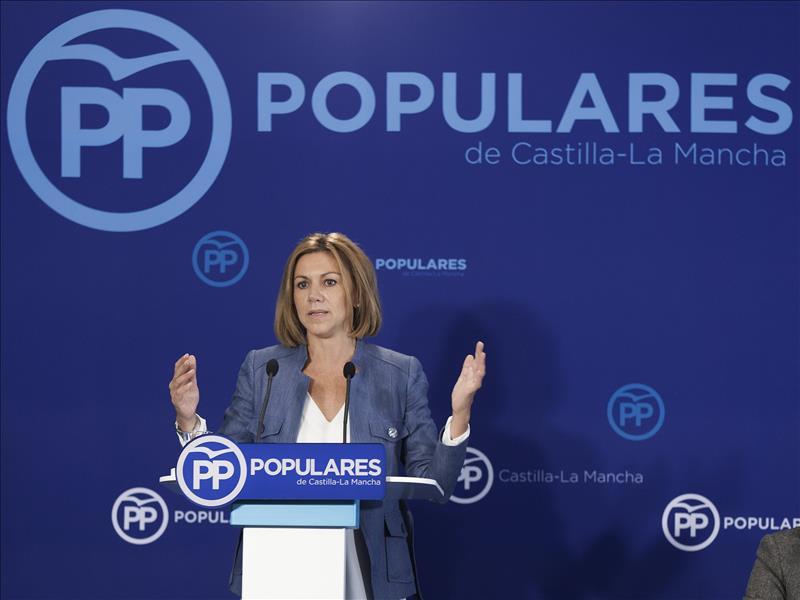 Cospedal será candidata al Congreso por Toledo y dejará las Cortes de Castilla-La Mancha