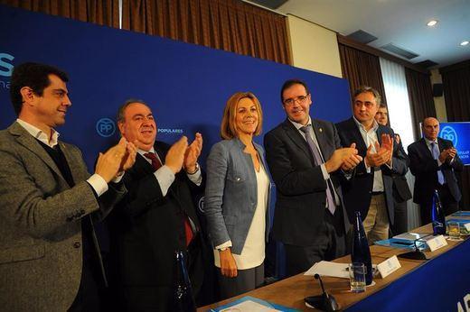 Cospedal en clave electoral en Cuenca: recuerda el