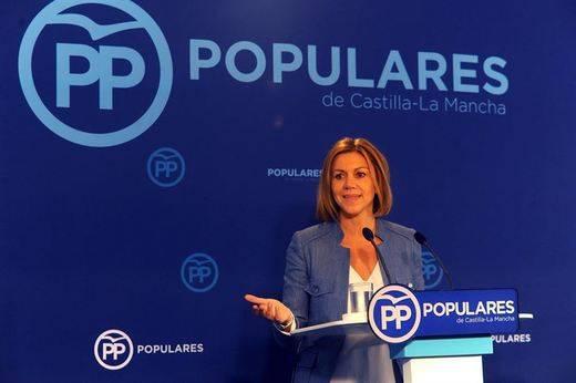 Cospedal: el PP no está en contra de la licencia para el hospital de Toledo sino 'de la prevaricación'