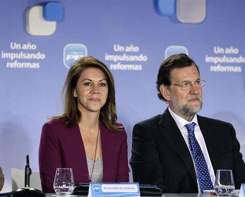Rajoy hablará con Cospedal para ver si quiere ser diputada nacional o se queda en Castilla-La Mancha