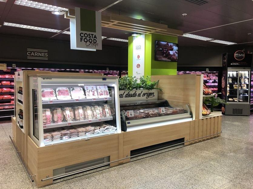El Corte Inglés y Costa Food Group estrechan su alianza con aperturas de corners que engloban todas sus marcas