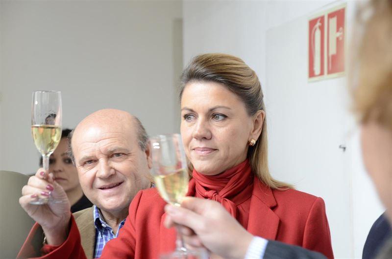 'La Cumbre del Vino era tirar el dinero para mayor gloria y lucimiento de Cospedal y su Gobierno'