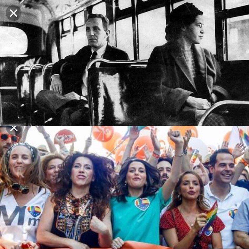 La polémica comparación de Ciudadanos con Rosa Parks