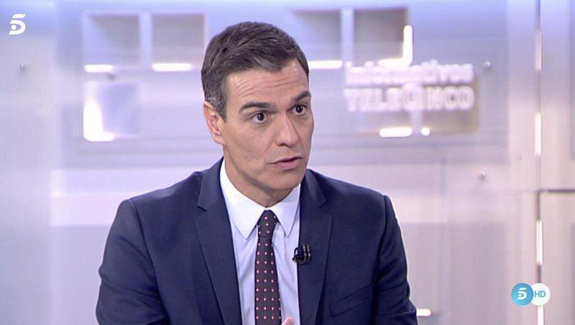 Sánchez reconoce que no acepta a Podemos en el gobierno por su postura con Cataluña y los presos