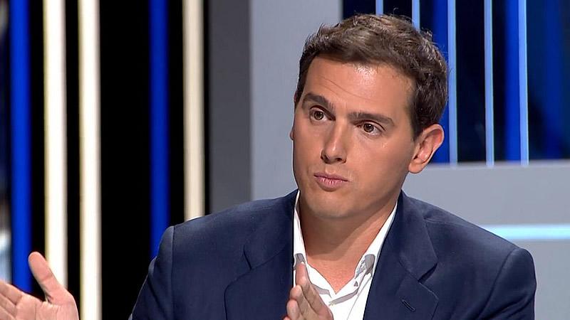 Rivera lo deja claro: permitirá que los votos de Vox sirvan para formar gobierno y echar a Sánchez