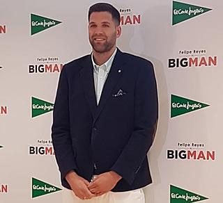 Felipe Reyes, protagonista de la campaña de Tallas Grandes de El Corte Inglés