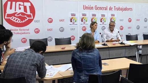 UGT exigirá un salario mínimo de 1.000 euros antes de 2020