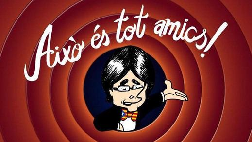 Los mejores memes de la detención de Puigdemont