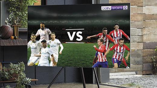 El derbi entre el Real Madrid y el Atlético será el primero ofrecido en calidad 4K