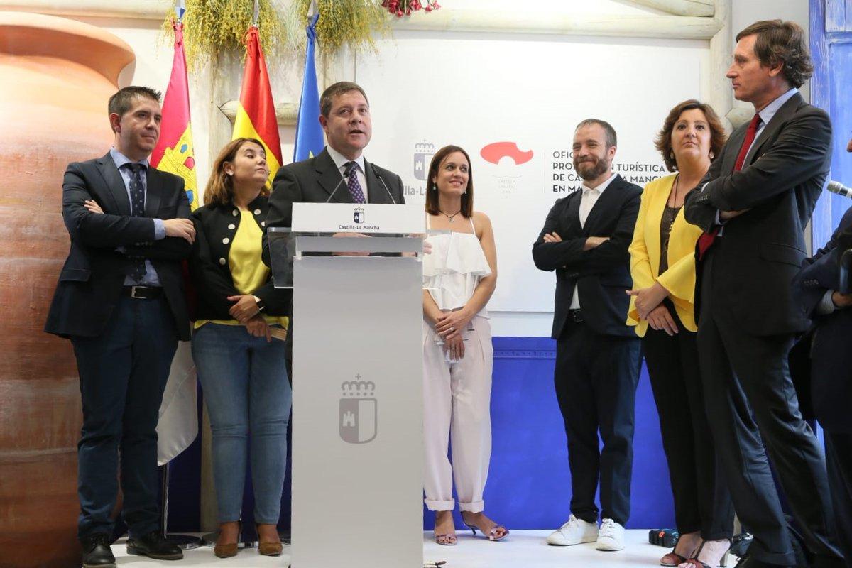 Castilla la mancha estrena la oficina de promoci n en for Oficina virtual de castilla la mancha