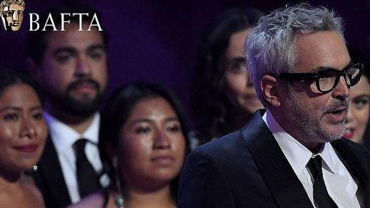 'Roma' también triunfa en los premios Bafta del cine británico