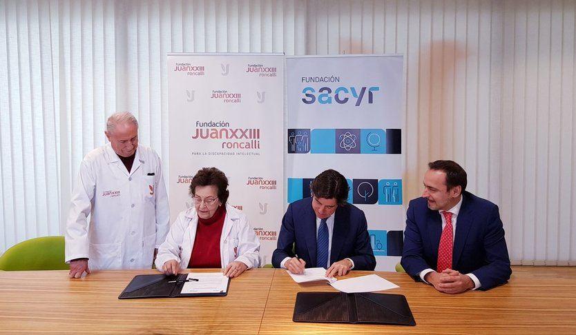 La Fundación Sacyr firma un acuerdo de colaboración con la Fundación Juan XXIII Roncalli