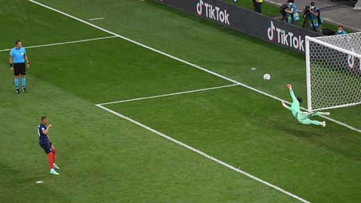 Mbappé, la gran decepción de la Eurocopa: penalti fallado, cero goles, Francia eliminada...