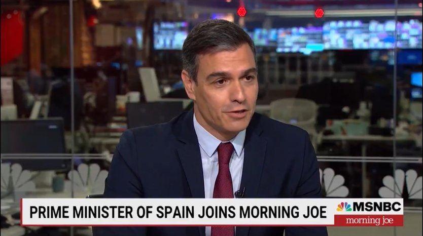 El físico de Sánchez causa sensación en Estados Unidos: 'Se parece a Superman'