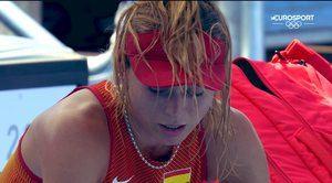 Tenis Tokio 2020: Paula Badosa se retira por un golpe de calor y Garbiñe Muguruza cae derrotada