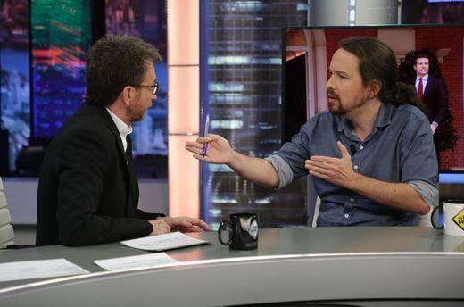 El choque entre Pablo Motos e Iglesias en 'El Hormiguero' por las donaciones de Amancio Ortega