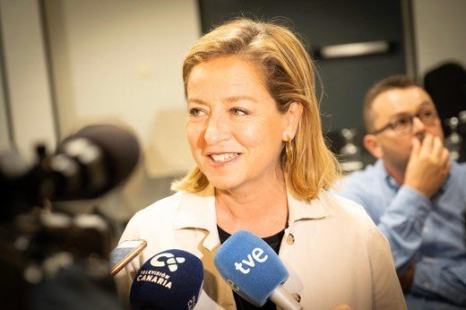 Coalición Canaria podría expulsar a Oramas por votar 'no' a Sánchez