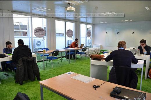 Espacio Coworking Redepyme EOI: un vivero de talento e innovación