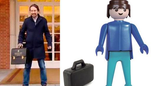 Los mejores memes de Pablo Iglesias debutando como vicepresidente del Gobierno