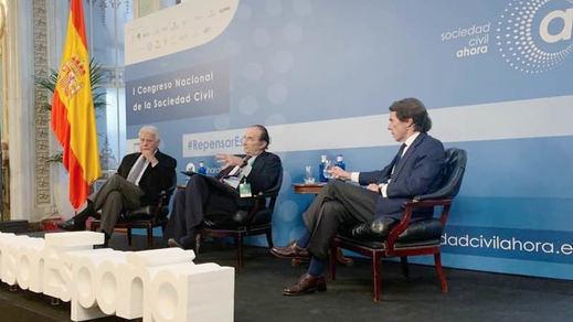 Los ex presidentes se dividen con la mesa de diálogo: Aznar y González vs Zapatero