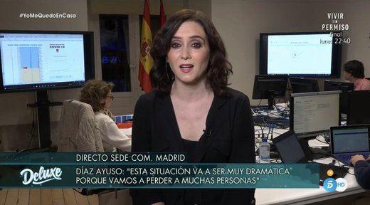 El duelo de Díaz Ayuso y Monedero sobre la sanidad pública y los recursos hospitalarios