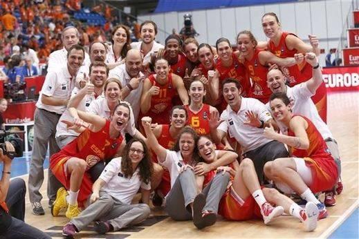 Eurobasket 2015: las 'chicas de oro' cumplen y se visten de bronce con paliza a Bielorrusia: 74-58