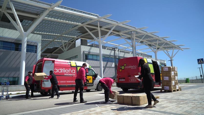 Iberdrola dona 8.000 mantas a hospitales de campaña y residencias de ancianos