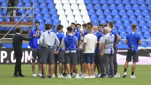 Escándalo y polémica en el final de Segunda División tras la suspensión del Dépor-Fuenlabrada por coronavirus