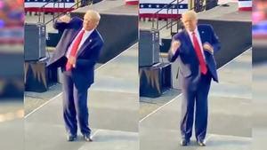 El baile de Trump a ritmo de 'Village People' se hace viral