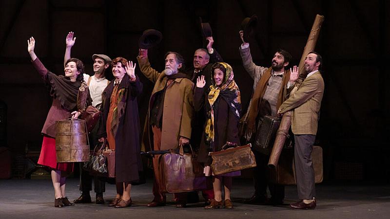 Crítica de la obra de teatro 'El viaje a ninguna parte': mañana será otro día