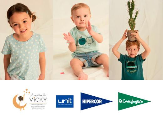 El Corte Inglés dona 20.952 € a la Fundación El Sueño de Vicky para luchar contra el cáncer infantil