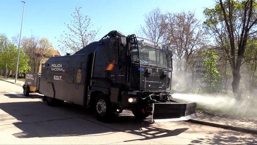 La Policía Nacional elige a Counterfog para luchar contra la covid-19