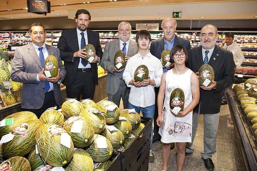 El Corte Inglés recauda 5.000 euros para Down España gracias al 'melón solidario'