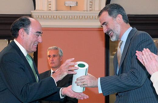 Ignacio Galán recibe de manos de Su Majestad el Rey el Premio Europeo de Medio Ambiente