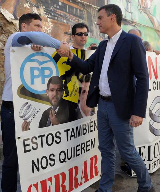 Pedro Sánchez pide al Gobierno de Rajoy que se comprometa y evite el cierre de Elcogas