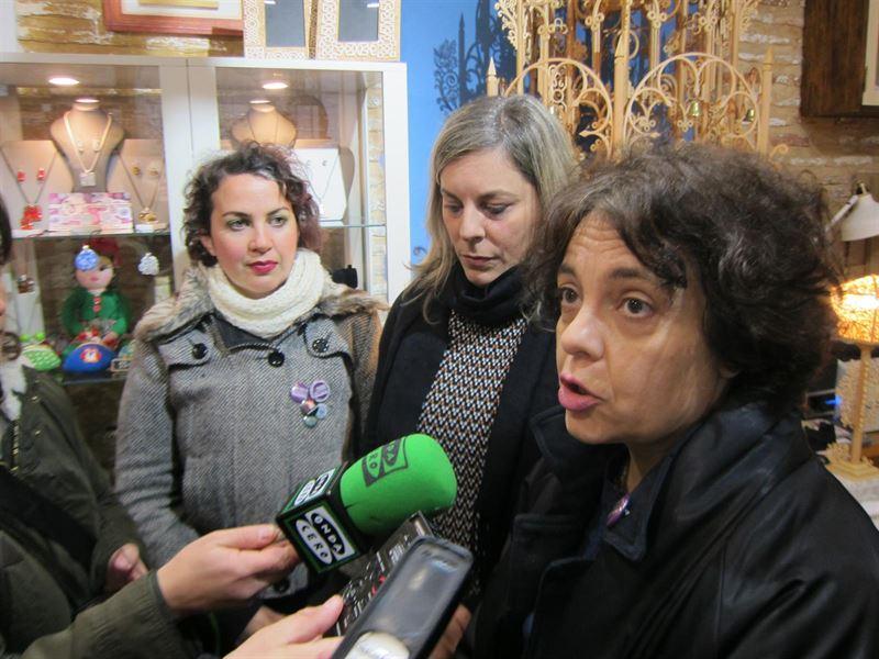 La única diputada electa de Podemos confía en que el voto del extranjero les dé dos escaños más