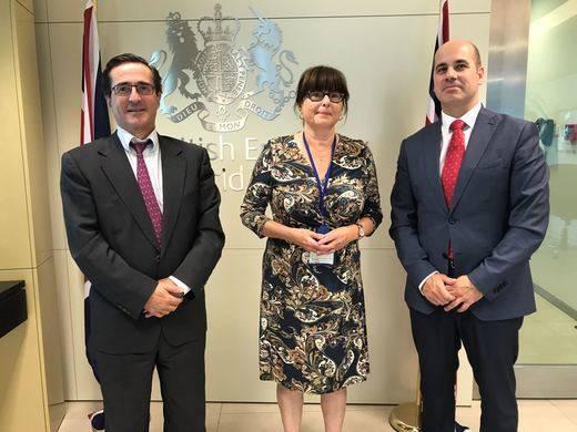 El Gobierno de Castilla-La Mancha estrecha lazos comerciales con Reino Unido